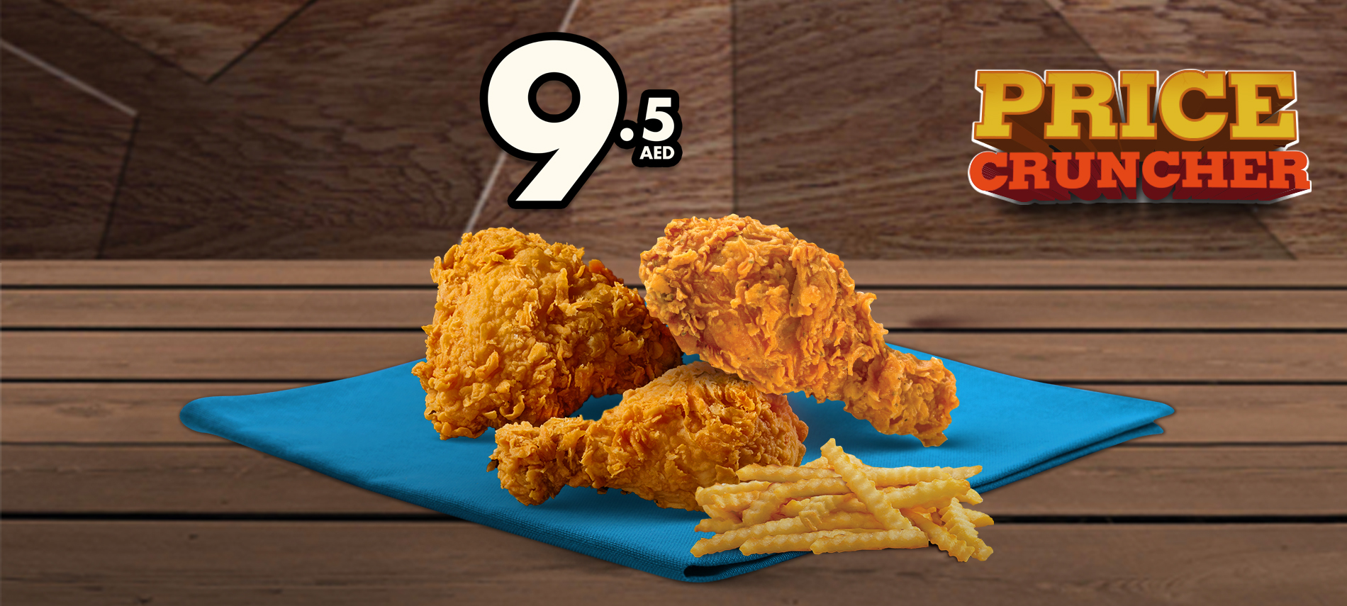 Texas Chicken Price Cruncher offer for just AED 9.5! - Dubaisavers