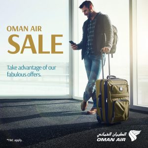 Oman Air Sale- Great Fares to Global destinations! - Dubaisavers