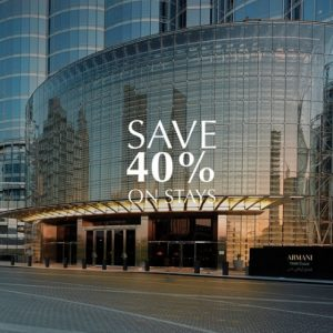 Armani Hotel deal of the Day! - Dubaisavers
