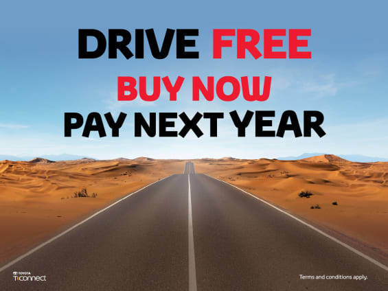 Toyota Buy Now Pay Later offer - Dubaisavers