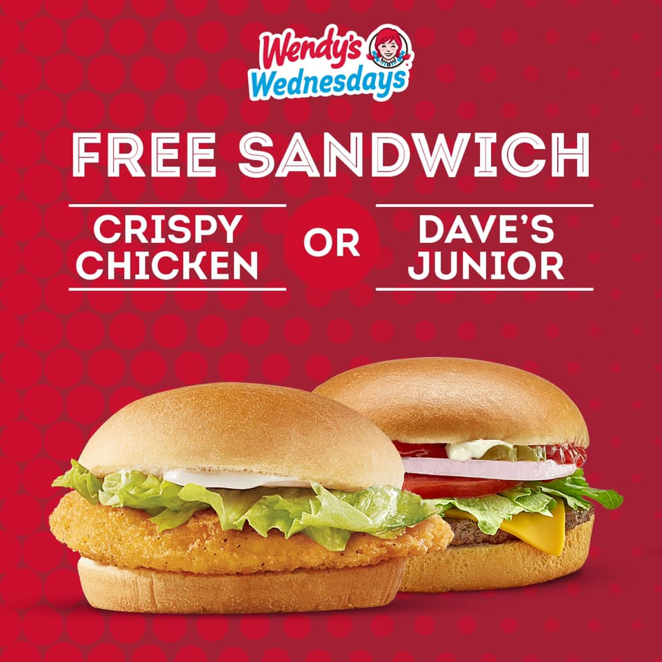 Wendy's Free Meal offer - Dubaisavers