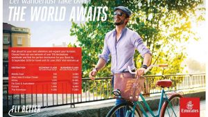 Emirates Airlines Special Fare offers - Dubaisavers