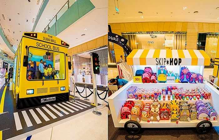 Come aboard the Back-To-School Bus at The Dubai Mall - Dubaisavers