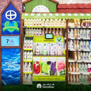 Carrefour launches Refill station at Mall of the Emirates - Dubaisavers