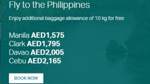 Cathay Pacific Special Fare offers - Dubaisavers