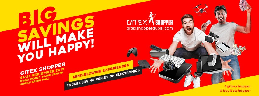 Gitex Shopper 2019 returns with irresistible offers - Dubaisavers