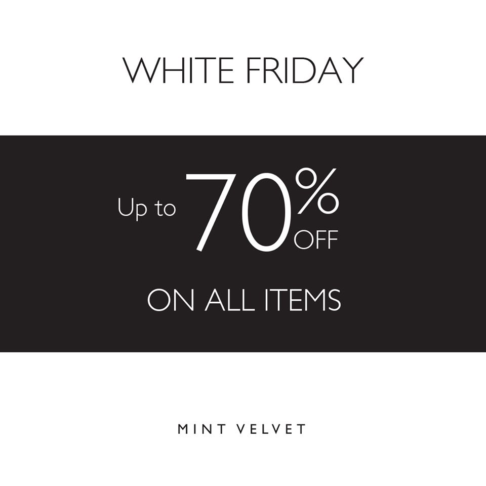 Mint Velvet White Friday Sale - Dubaisavers