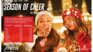 Emirates Airlines Season of Cheer Promotion - Dubaisavers