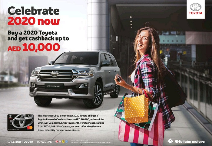 Toyota Cashback offer - Dubaisavers