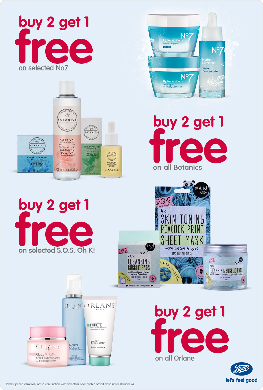 Boots Buy 2 Get 1 Free offer - Dubaisavers