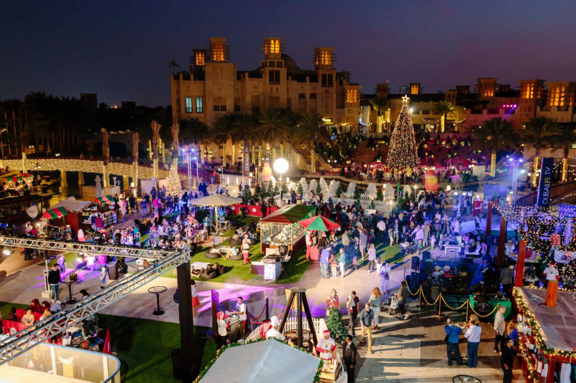 Madinat Jumeirah massive Christmas market is back - Dubaisavers