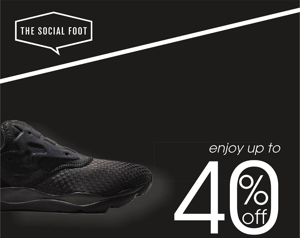 Super Sale offer at The Social Foot - Dubaisavers