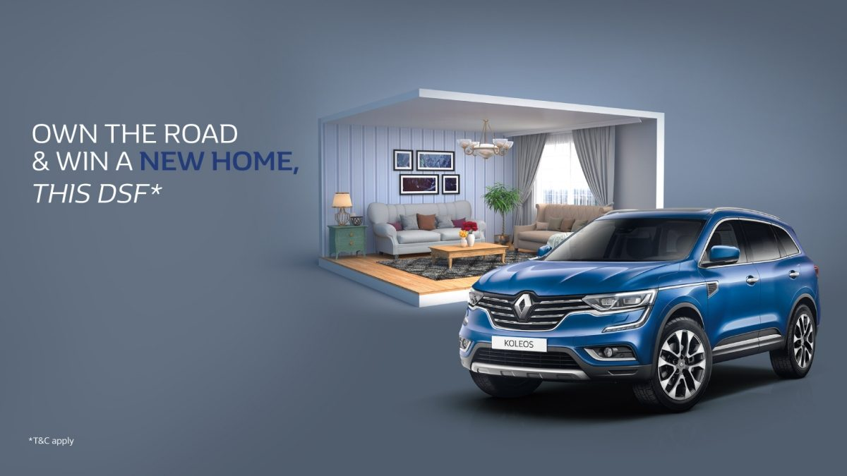 Renault Win a Home DSF offer - Dubaisavers