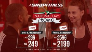 Snap Fitness UAE National day offers - Dubaisavers