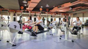 Strong Ladies Physical Fitness Gym