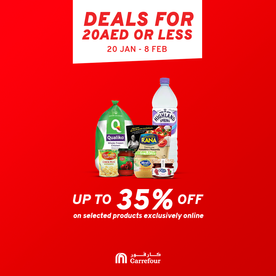 Carrefour Exclusive offers - Dubaisavers