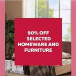 DSF deal of the Day - 90% off homeware and furniture - Dubaisavers