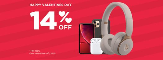 iStyle Valentine's day offers - Dubaisavers