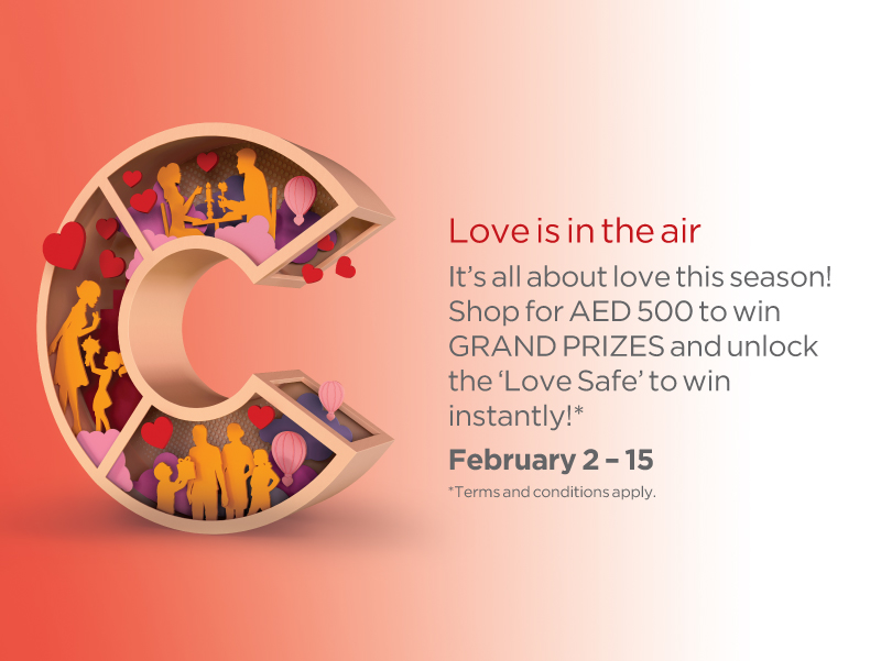City Centre Deira Valentine's day promotion - Dubaisavers
