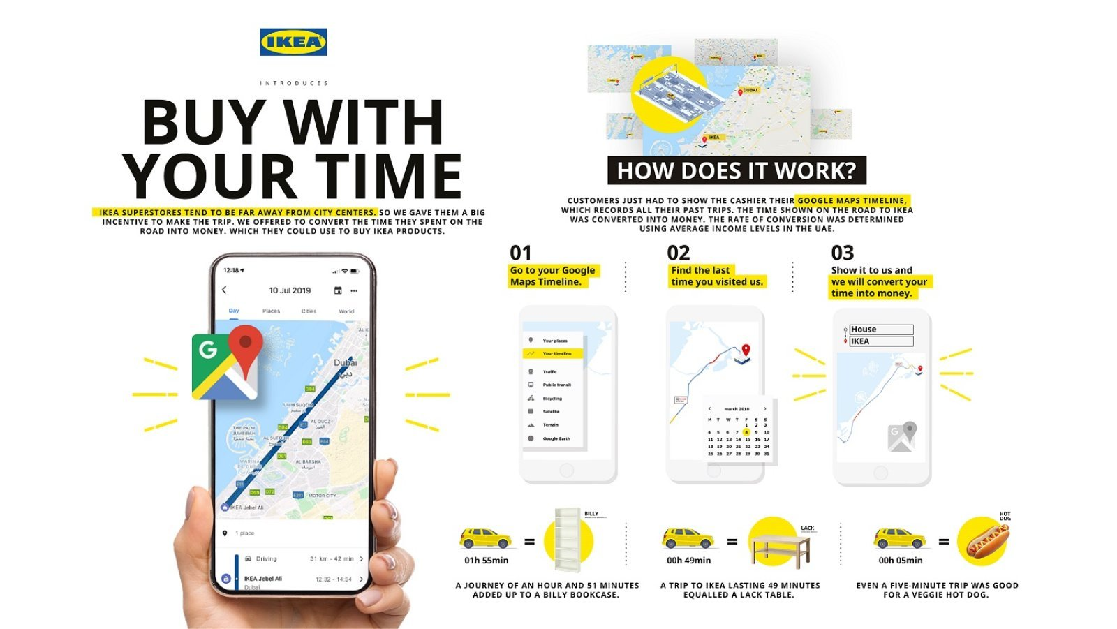 IKEA Buy With Your Time Campaign lets Customers Pay Using Time - Dubaisavers