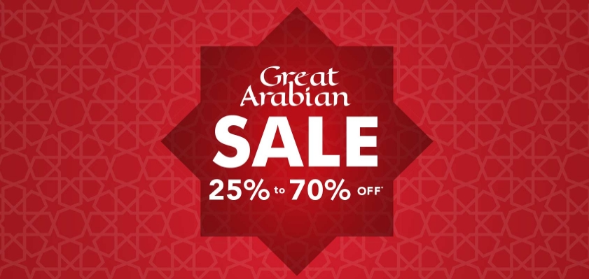MAX Great Arabian Online Sale - Dubaisavers