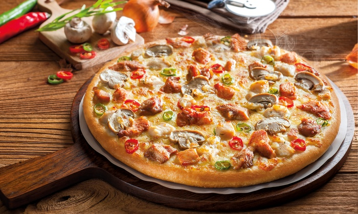 Two Pizzas with Soft Drinks at The Pizza Company (Up to 52% Off) - Dubaisavers