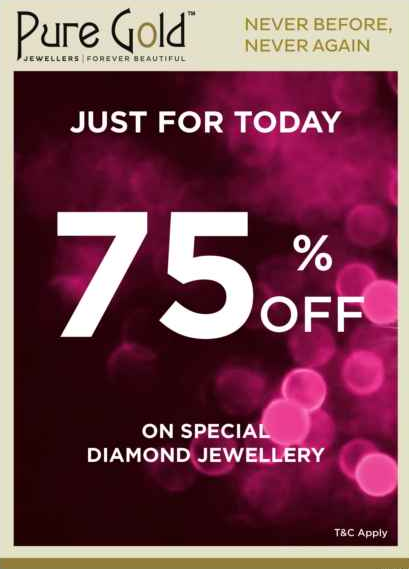 Pure Gold Jewellers Today only offer - Dubaisavers