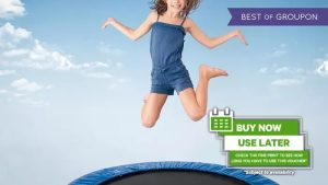 Trampoline Session for Child or Adult at Dolphinarium - Dubaisavers