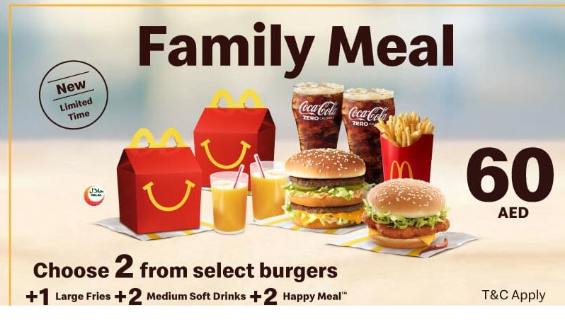 McDonald's All New Dhs10 Meal - Dubaisavers