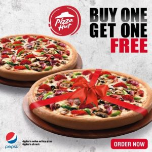 Free Pizza from Pizza Hut on Tuesdays Only - Dubaisavers