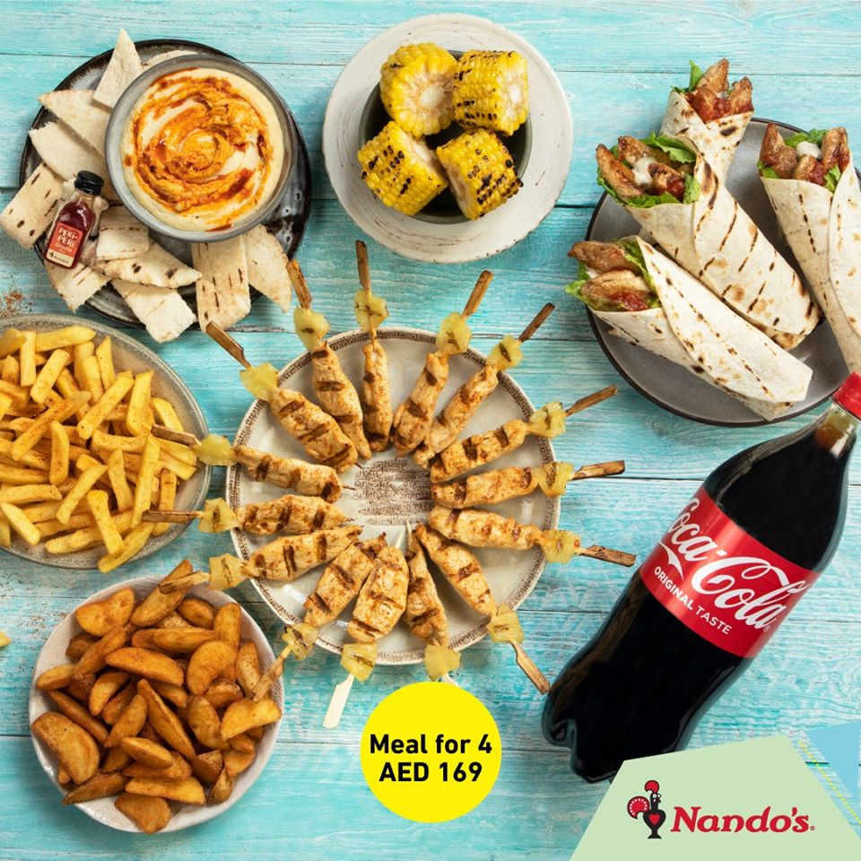 Nando's Platter offer - Dubaisavers
