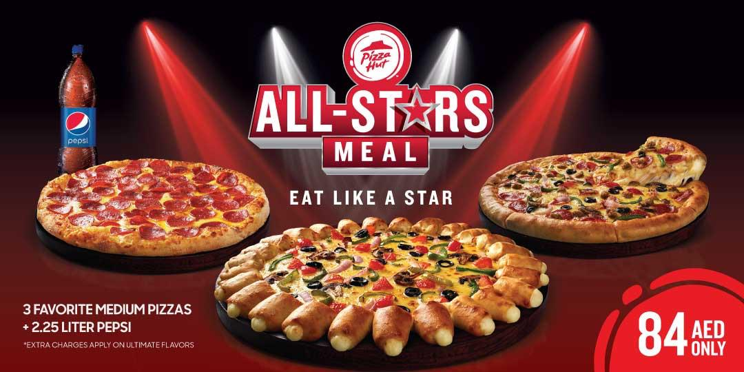 Pizza Hut All Stars Meal - Dubaisavers