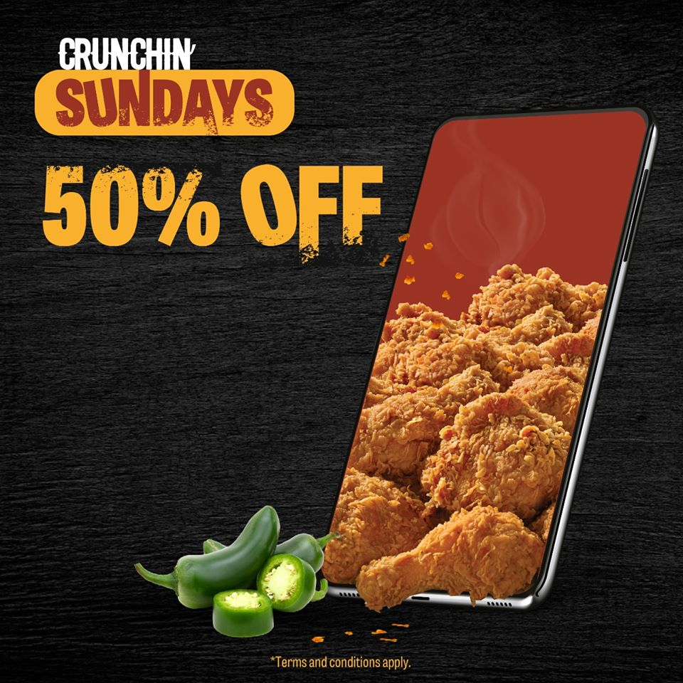 Texas Chicken Crunchin Sundays Offer - Dubaisavers