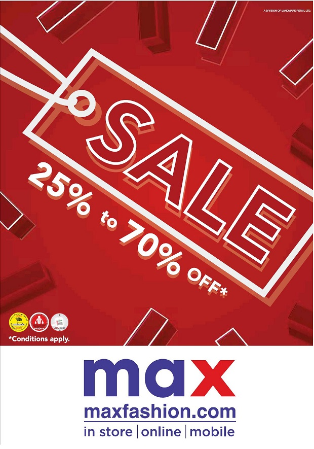 Sale at MAX - Dubaisavers