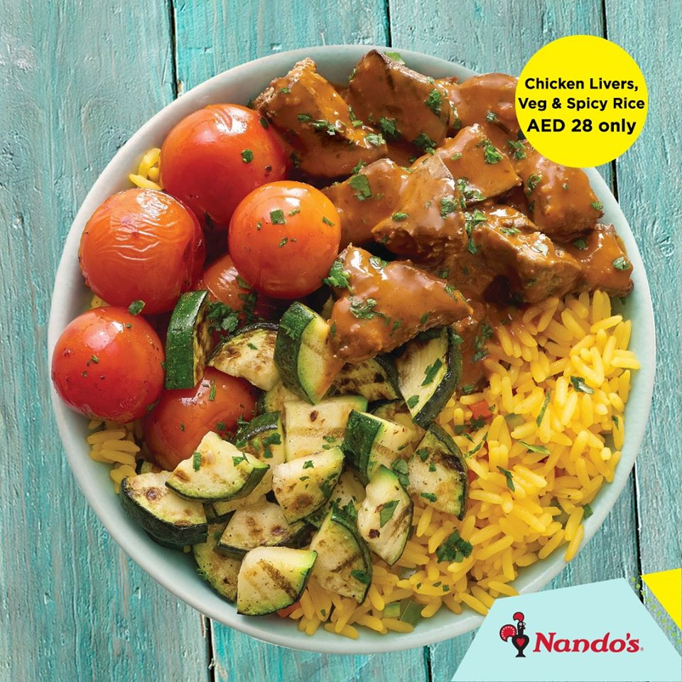 Nando's Limited Period offer - Dubaisavers