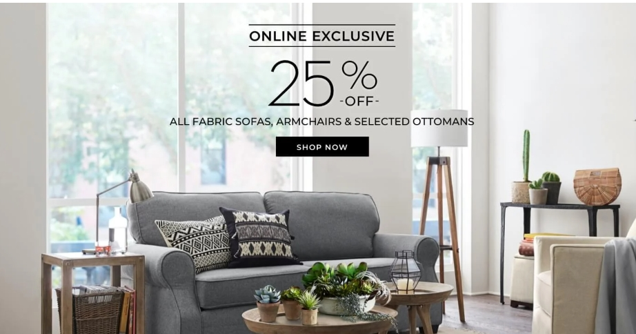 Pottery Barn Online Exclusive offer - Dubaisavers