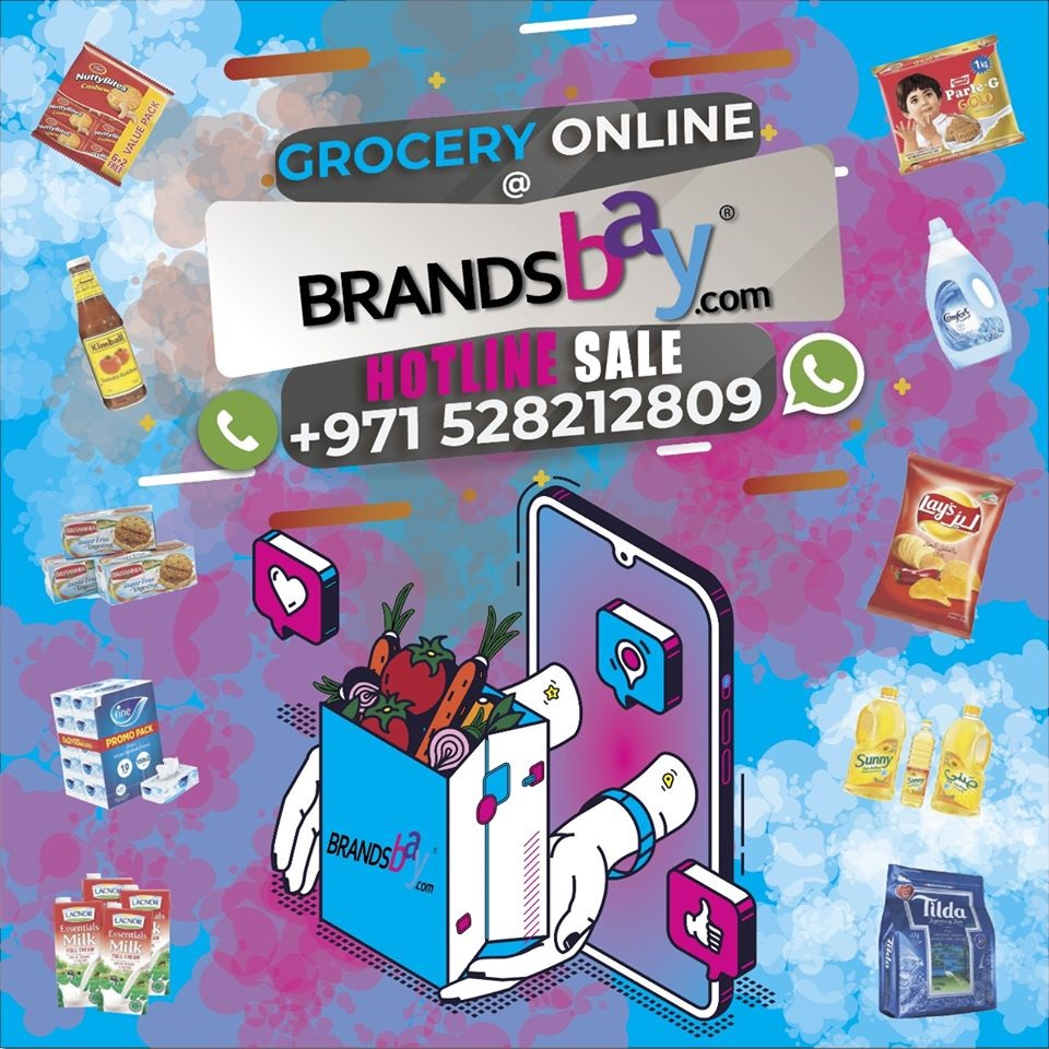 Brandsbay.com launches Home delivery of Grocery - Dubaisavers