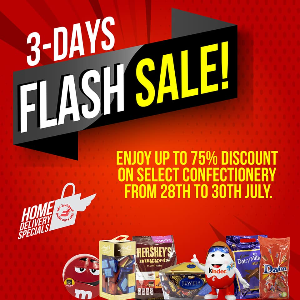 Dubai Duty Free 3 days Flash Sale - Dubaisavers