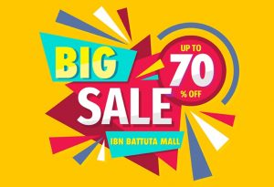 Big Sale at Ibn Battuta Mall - Dubaisavers