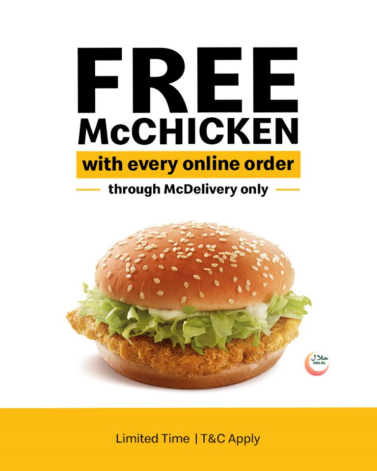 McDonald's New Limited Time offer - Dubaisavers