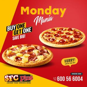 SFC Plus Monday Only Buy 1 Get 1 FREE offer - Dubaisavers