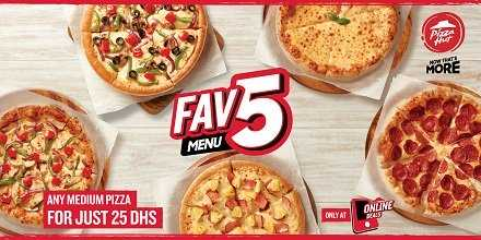 Pizza Hut Tuesday only offer - Dubaisavers