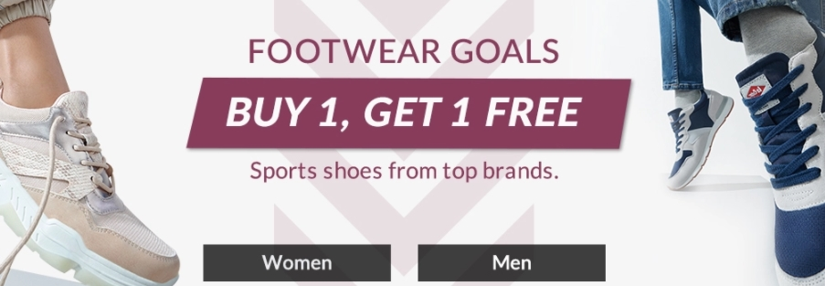 Shoe Mart Buy 1 Get 1 FREE sale - Dubaisavers