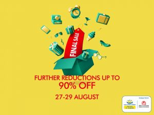 Mall of the Emirates DSS Final Sale- Up to 90% - Dubaisavers