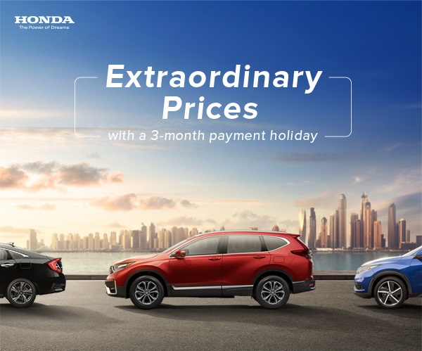 Honda Exceptional Price offers - Dubaisavers