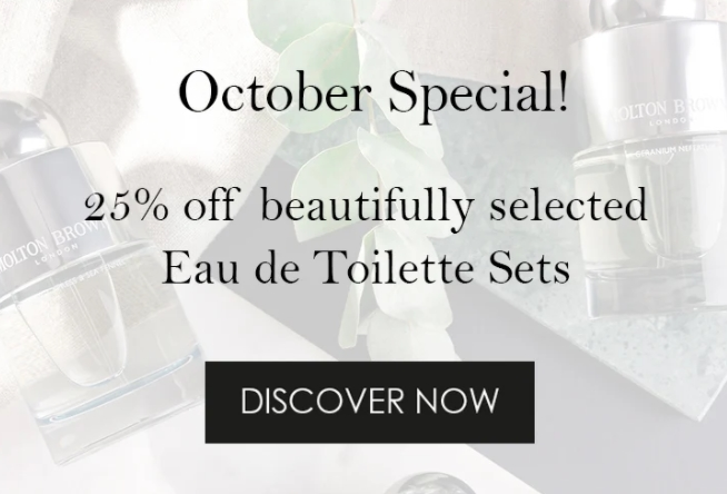 Molton Brown October Special offer - Dubaisavers
