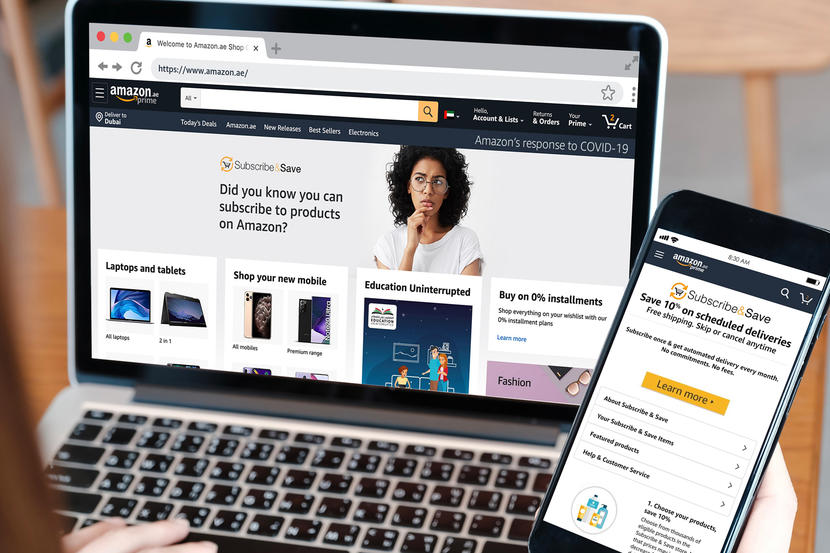 Amazon.ae introduces Subscribe and Save Service in UAE - Dubaisavers