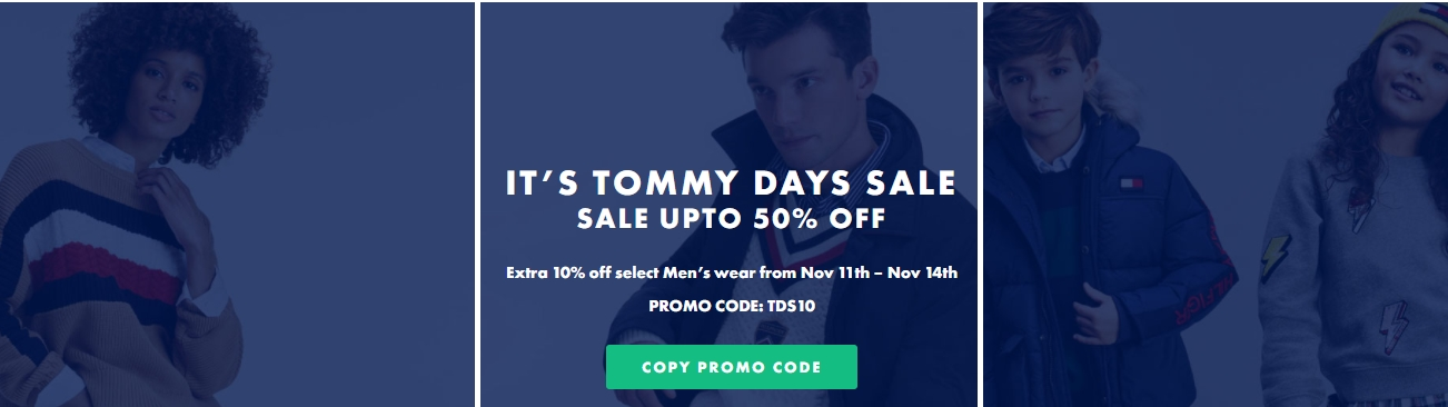 Tommy Hilfiger Singles day Promotion - Dubaisavers