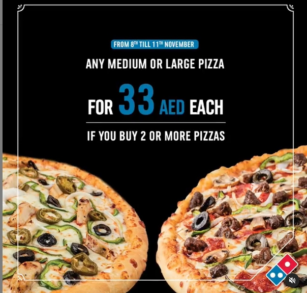 Domino's Pizza Special offer - Dubaisavers