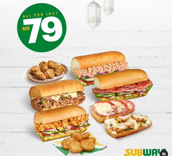 Subway Ramadan Promotion - Dubaisavers